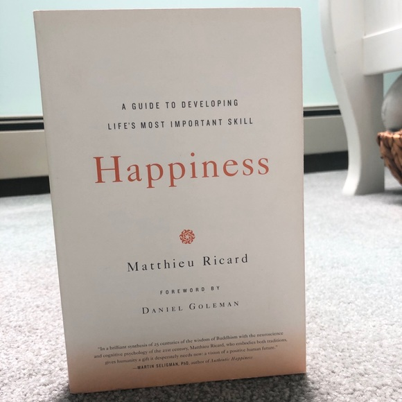 Books Other - Happiness by Matthieu Ricard